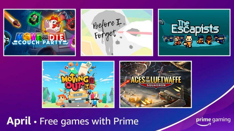 Juegos Gratis Prime Gaming Abril 2021 (The Escapists, Move or Die, etc)