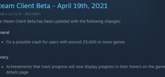 Steam corrige un crash a cuentas con +25.000 juegos