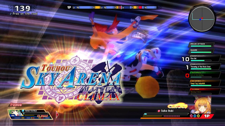Touhou Sky Arena Matsuri Climax