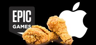 El juicio entre Epic y Apple ha finalizado. Tim Sweeney lo celebra publicando.. ¿pollo frito?
