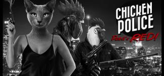 Chicken Police Análisis: Una oda al cine de detectives
