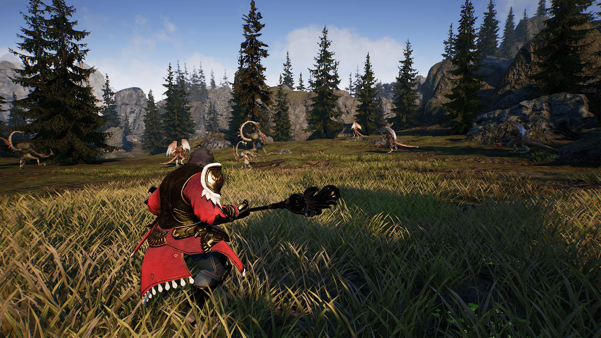 Prueba la beta final para PC de Bless Unleashed