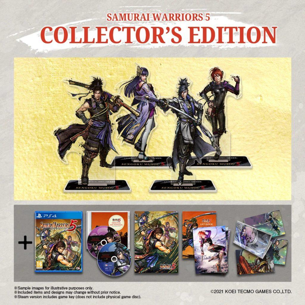 Samurai Warriors 5 Collector's Edition PS4