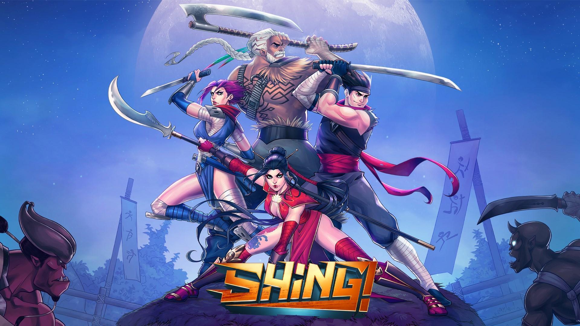 Shing! Main title