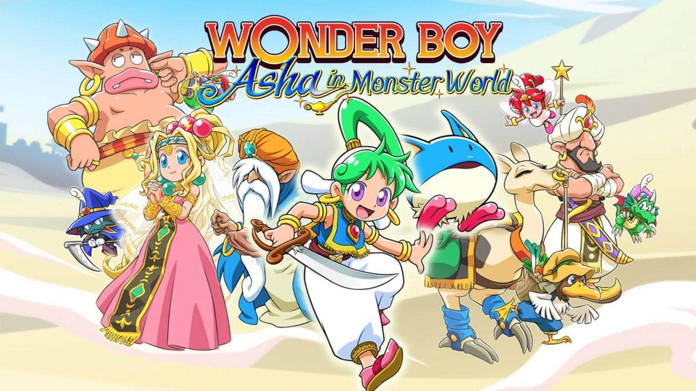 Wonder Boy: Asha in Monster World ya tiene fecha en Steam