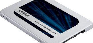 SSD Crucial MX500 2TB al 29% de descuento