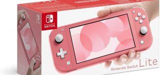 Nintendo Switch Lite Coral – 199€ (PVP: 239,9€)