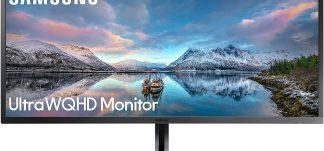 Monitor Samsung 34″ UltraWide WQHD 4K – 299.98€ (PVP: 379€)