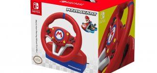 Volante Mario Kart Pro mini Nintendo Switch/PC – 39.99€ (PVP: 59.99€)