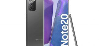 Samsung Note 20 8GB/256GB 6.7″ versión española – 499€ (PVP: 799.90€)