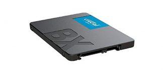 SSD Crucial BX500 480GB – 48.99€ (PVP: 61.7€)