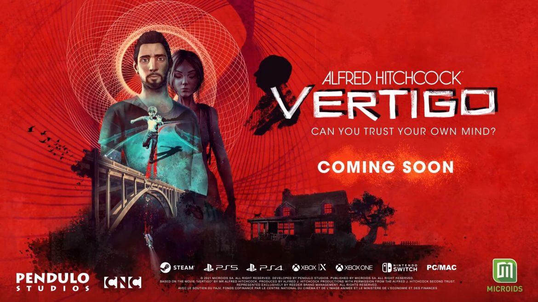 Pendulo Studios presenta su juego narrativo Alfred Hitchcock – Vertigo