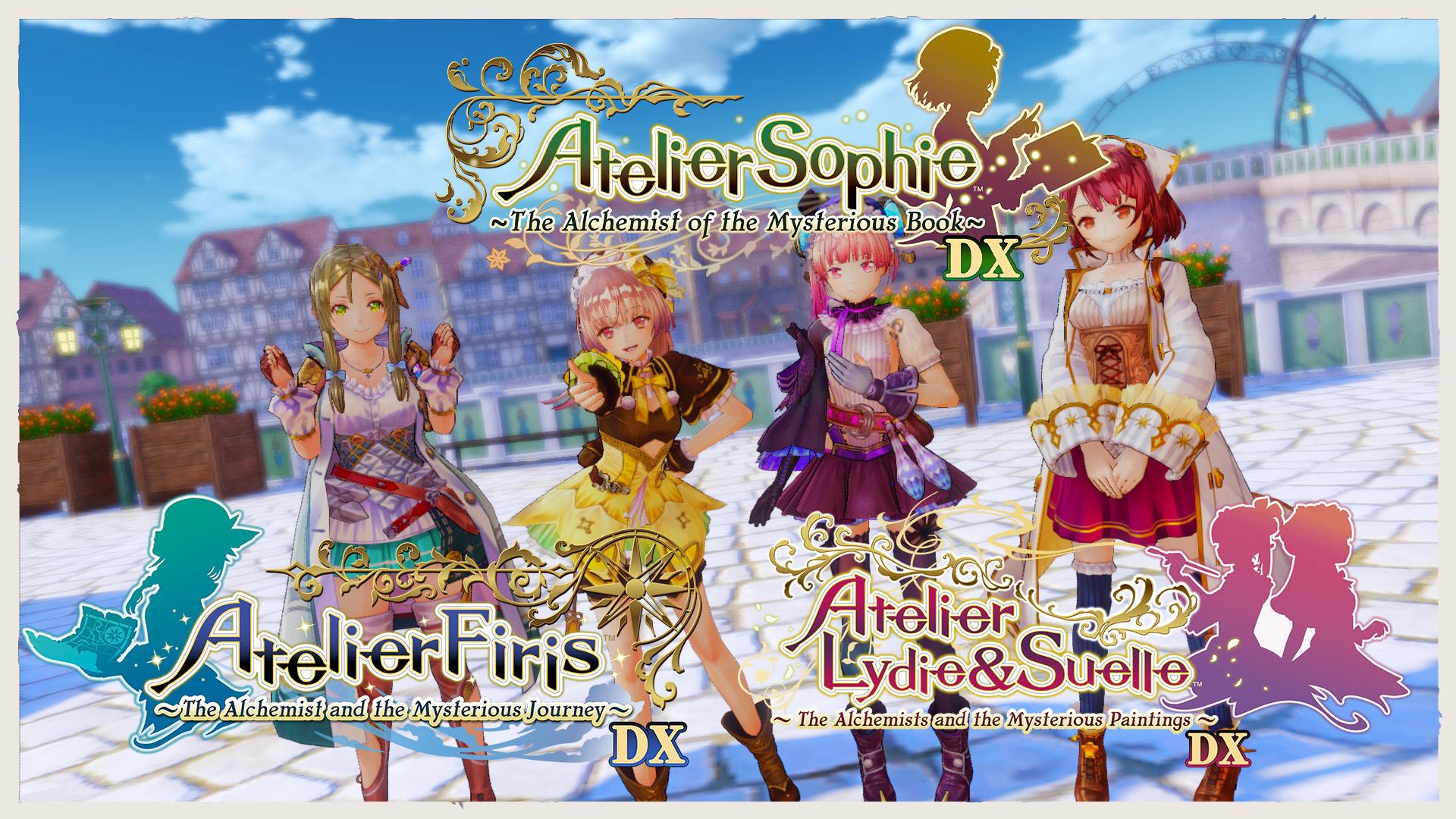Atelier Mysterious Trilogy Main