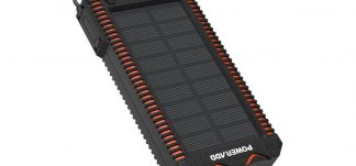 Powerbank Poweradd 12000mAh solar con linterna – 11.9€ (PVP: 19.99€)