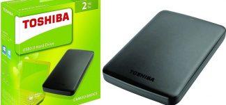 Disco duro Toshiba Canvio Basics 2TB – 62.35€ (PVP: 94.90€)