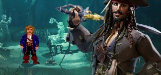 Monkey Island se cuela en Sea of Thieves