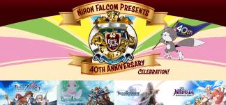 Anuncios y novedades por el 40 aniversario de Nihon Falcom