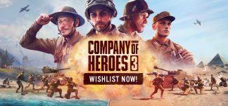 Presentado Company of Heroes 3 – Pre-Alpha disponible