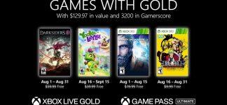 Nuevos juegos Games With Gold Agosto 2021 – Xbox