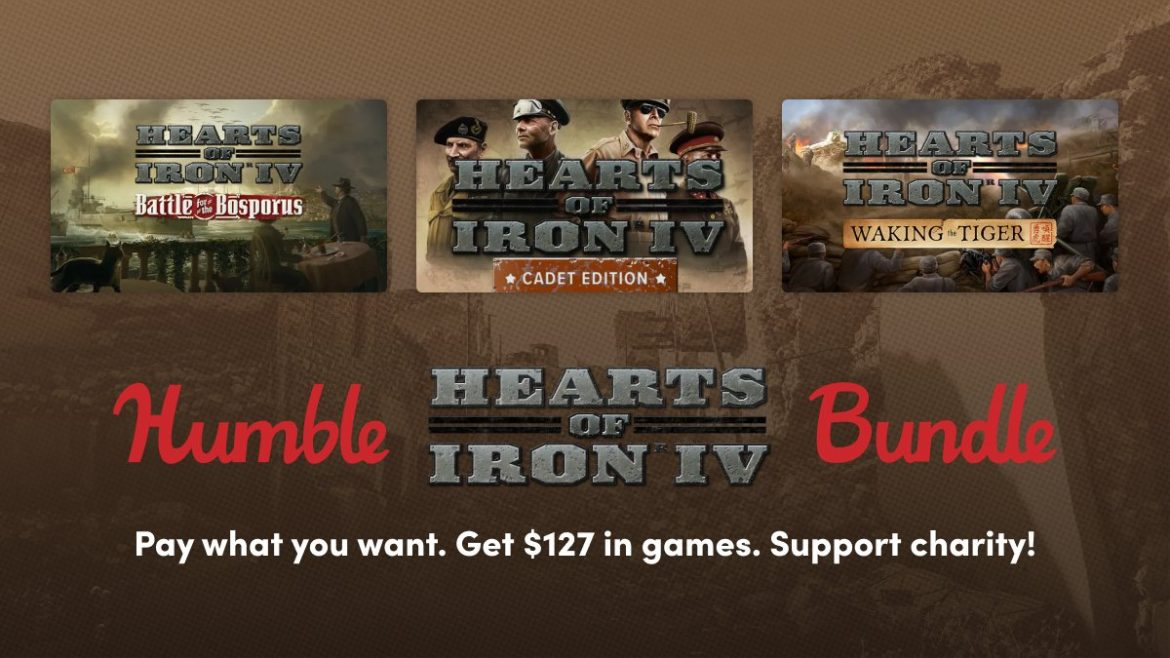 Humble Hearts of Iron IV Bundle – Steam – Desde 1€