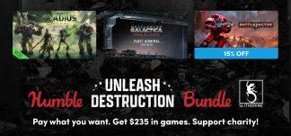 Humble Unleash Destrucion Bundle – Steam – Desde 1€