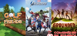 Juega GRATIS Grounded, Marvel´s Avengers y Golf With your Friends – Steam