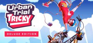 Urban Trial Tricky Deluxe Edition, realiza los trucos y combos más salvajes en tu moto.