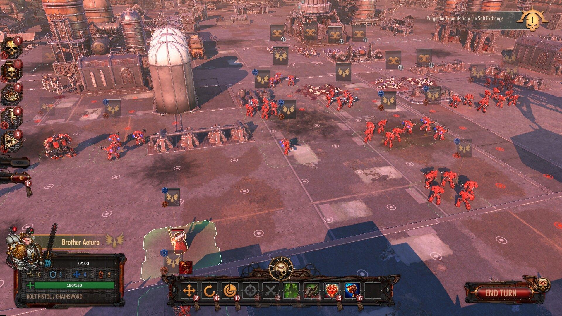 Warhammer 40,000: Battlesector screenshot