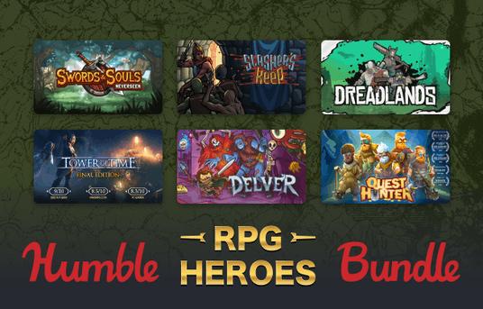 Humble RPG Heroes Bundle – Steam – Desde 1€