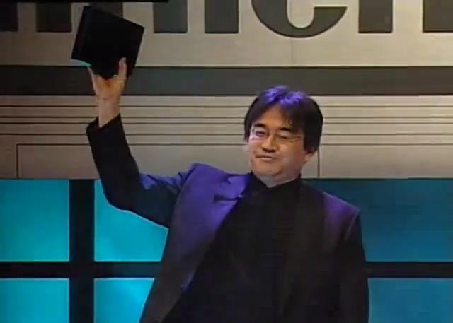 Wii e3 iwata