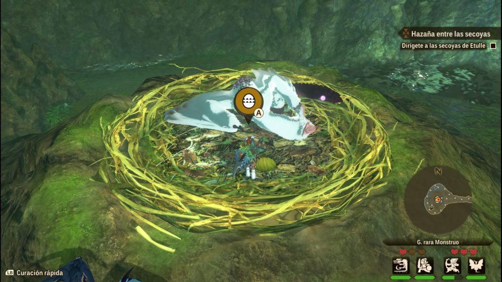 Monster Hunter Stories 2: Sssh no le pises la cola