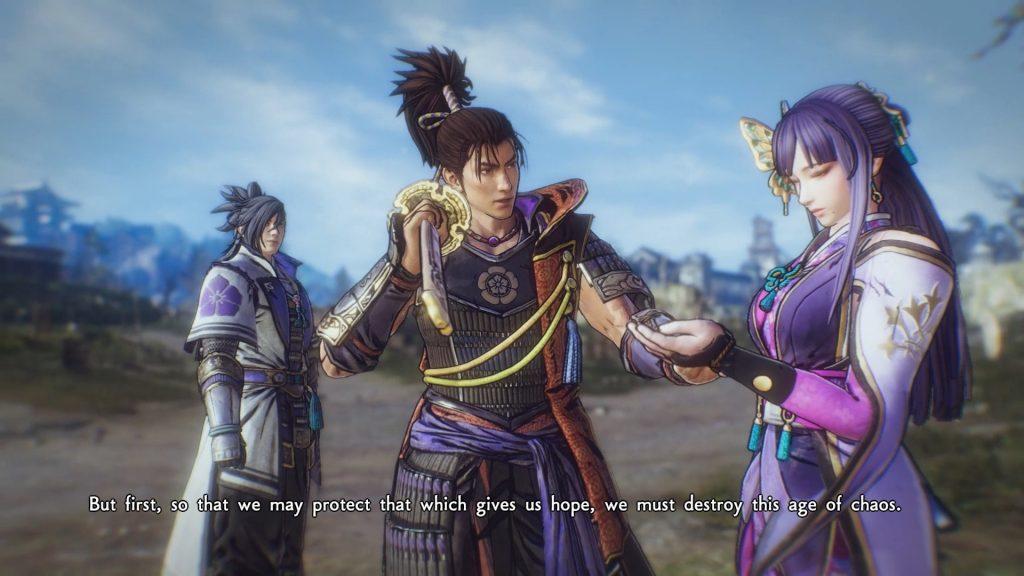 Samurai Warriors 5: Oda, Akechi y Nô entre amigos.