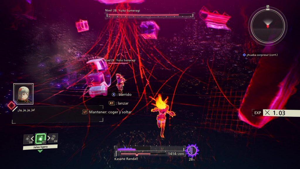 Incursión cerebral en Scarlet Nexus
