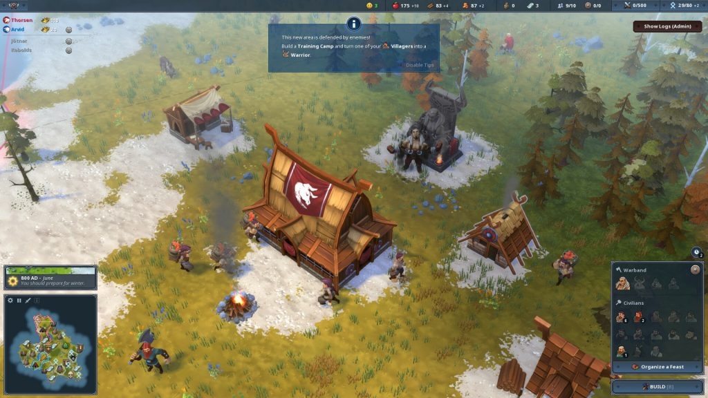 Northgard: Himminbrjotir, Clan of the Ox