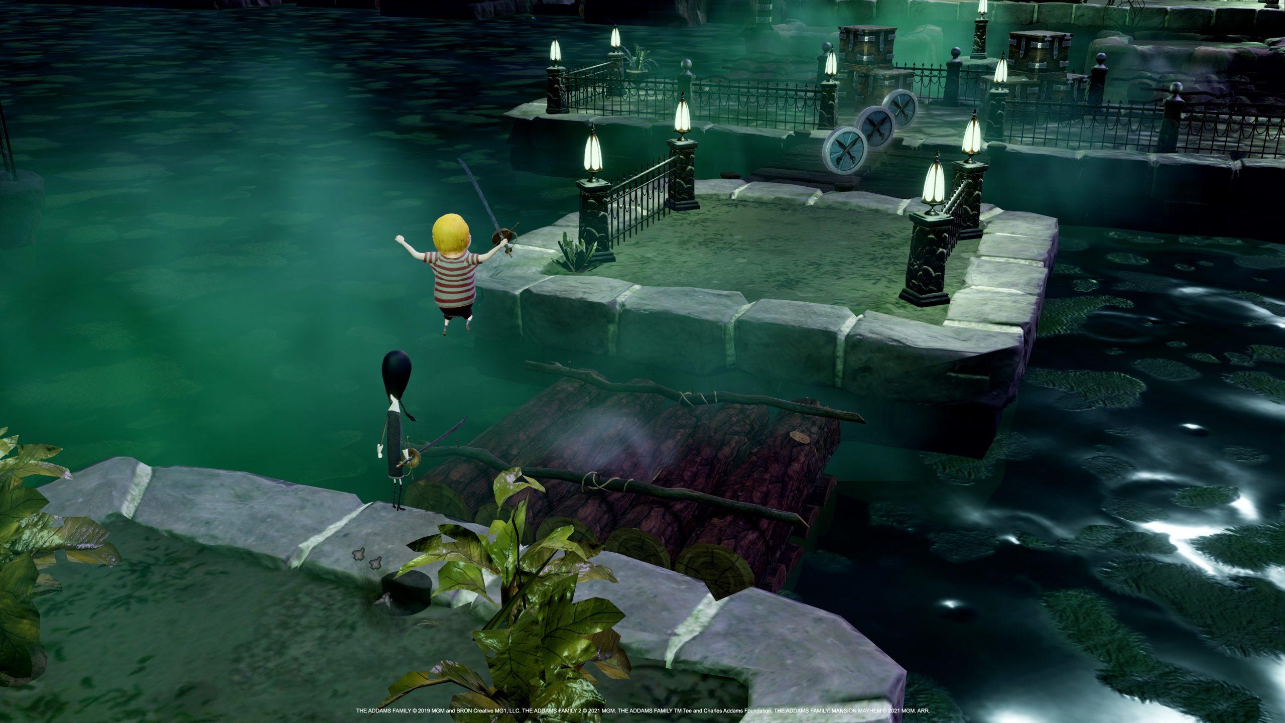 The Addams Family: Mansion Mayhem screenshots