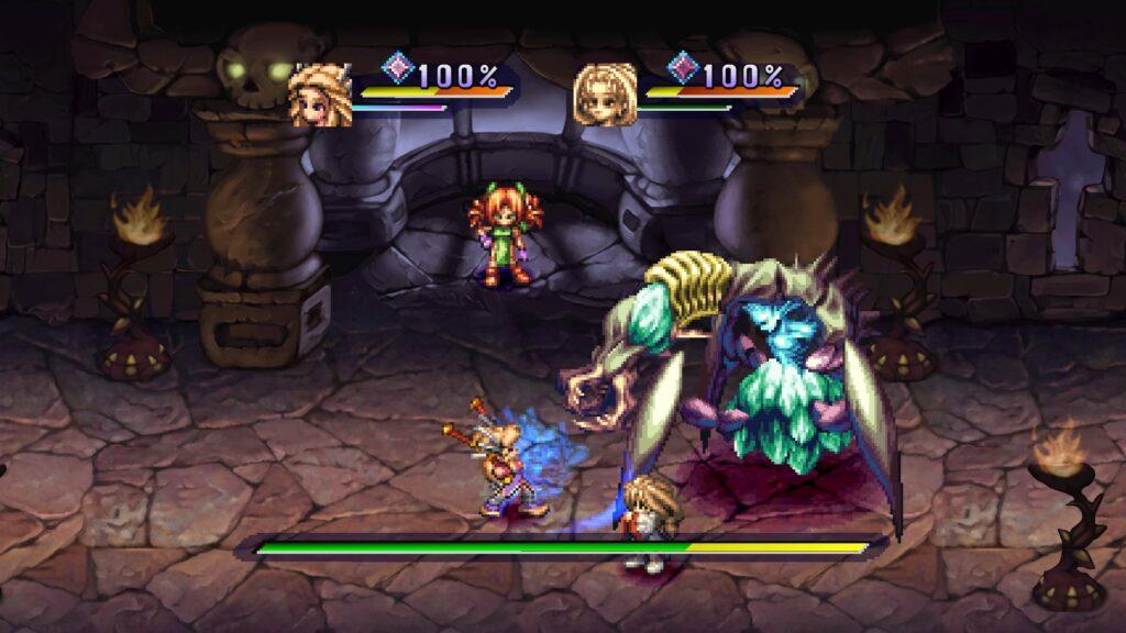 Legend of Mana - El jefazo manda un jefecito.