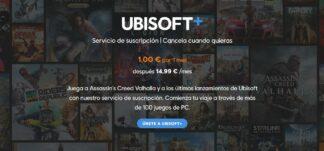 Ubisoft+ por 1€ el primer mes