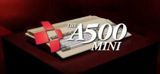 Vuelve el Commodore Amiga 500 en una versión Mini