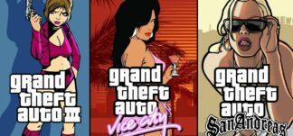 GTA III, Vice City y San Andreas podrían volver remasterizados