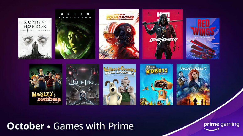 Juegos Gratis Prime Gaming Octubre 2021