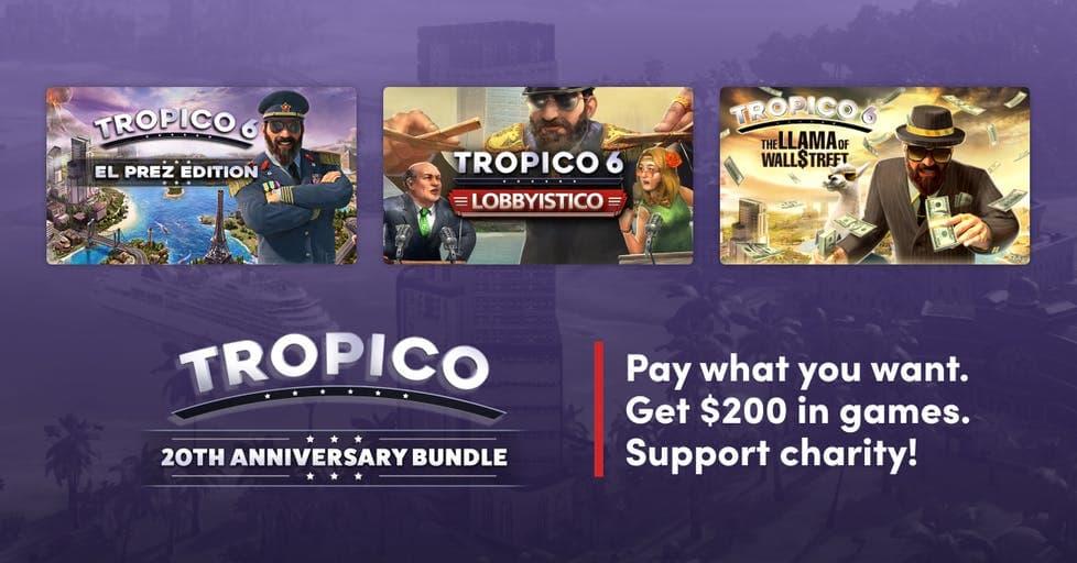 Humble Trópico 20 aniversario Bundle – Steam – Desde 1€