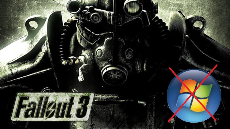Fallout 3 es actualizado en Steam 12 años después de su lanzamiento