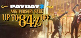 PayDay 2 celebra su décimo aniversario con rebajas de hasta el 84%
