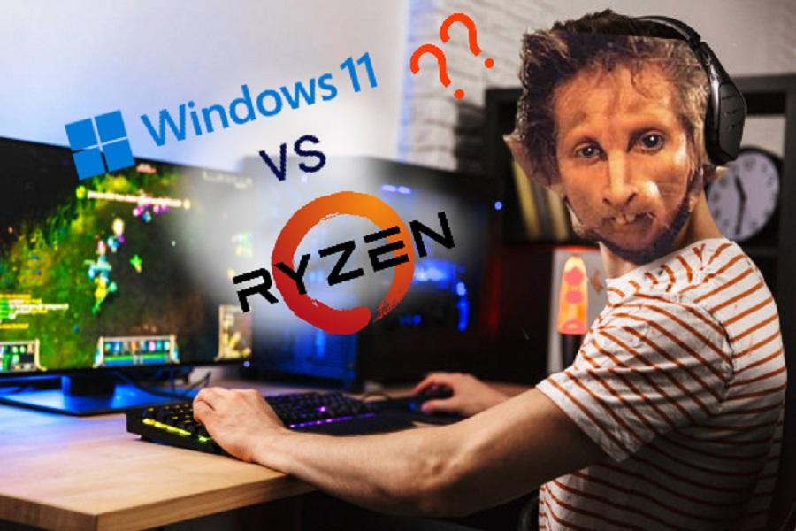 Windows 11 hace perder un 15% de rendimiento a las CPU AMD