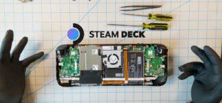 Valve muestra el interior de Steam Deck