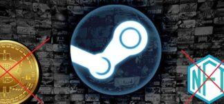 Steam no permite videojuegos que impliquen uso de NFT o Criptomonedas