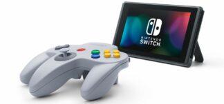 Ya disponible para reserva el mando de Nintendo 64 para Switch