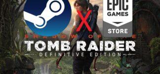 La trilogía Tomb Raider solicita una cuenta de Epic Games al ser ejecutada en Steam